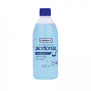 Removedor à Base de Acetona Farmax-500ml
