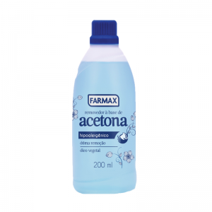 Removedor à Base de Acetona Farmax-200ml