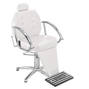 Cadeira de Maquiagem Reclinável Linea Marri-Branca