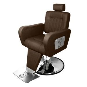 Cadeira de Barbeiro Hidráulica Reclinável Sparta Kixiki