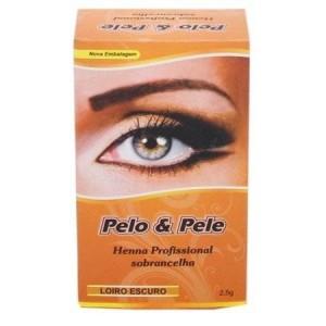 Henna para sobrancelha Pelo e Pele 2,5GR