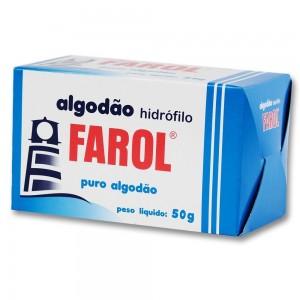 Algodão Hidrófilo Farol-50g