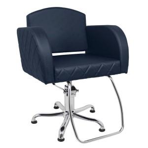 Cadeira Capri Encosto Fixo Matelassê Kixiki