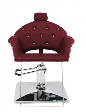 Cadeira Velvet Encosto Reclinável Base Quadrada Kixiki
