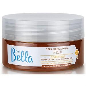 Cera Depilatória Fria Tradicional Depil Bella-200g