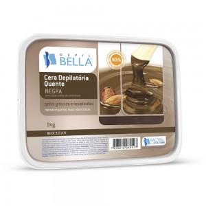 Cera Depilatória Quente Negra Depil Bella-1kg