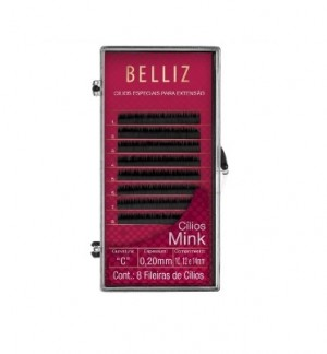 Cilios Para Alongamento Mink C 020 Mix  Belliz