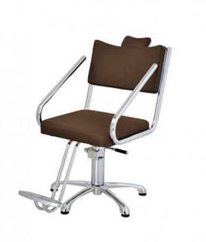 Cadeira Hidráulica Fixa Cromus Terra Santa-Café