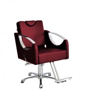 Cadeira Hidráulica Reclinável base Pentapé Alumínio Dali Terra Santa-Bordo