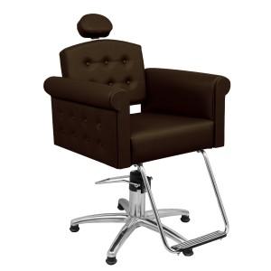 Cadeira Hidráulica Reclinável Elegance Marri-Café
