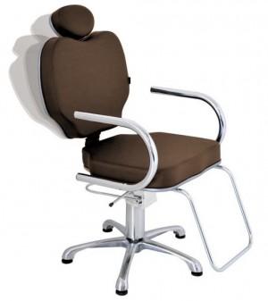 Cadeira Hidráulica Reclinável Gobbi Terra Santa-Café