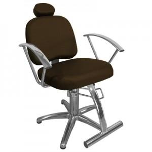Cadeira Hidráulica Reclinável Iris Marri-Café