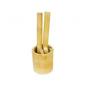 Kit bamboo com copo - Estek