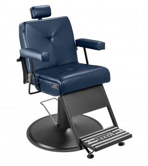 Cadeira de Barbeiro Milão Marri pé taça preto