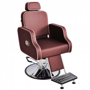 Cadeira Hidráulica Cabeleireiro/Barbeiro Reclínavel Greco Terra Santa-Bordo