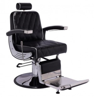 Poltrona para barbeiro / cabeleireiro reclinável Da Vinci - Terra Santa