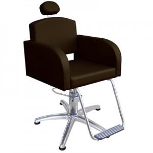 Cadeira Hidráulica Fixa Sofia Marri-Café