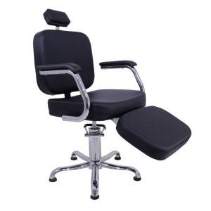 Cadeira de Cabeleireiro Toronto com Descanso de Pés Kixiki