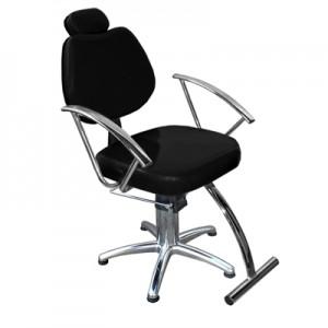 Cadeira Hidráulica Reclinável Tulipa Marri-Preto
