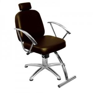 Cadeira Hidráulica Reclinável Turim Marri-Café