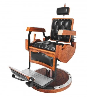Cadeira de barbeiro Viking - Kixiki