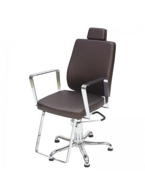 Cadeira Cabeleireiro Reclinável Croma Kixiki