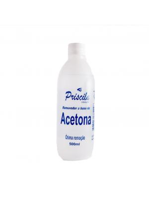 Acetona Priscila 500ml