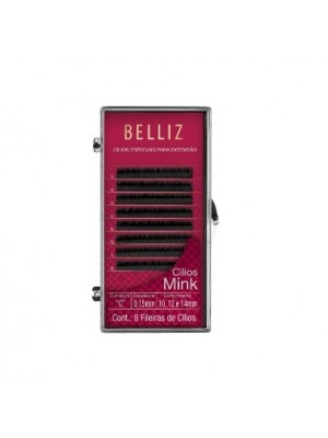 Cilios Para Alongamento Mink C 015 Mix Belliz