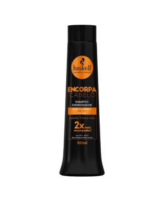 Shampoo engrossador Haskell encorpa cabelo 300ml