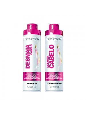 Kit Seduction Desmaia Cabelo Shampoo 1l + Condicionador 1l