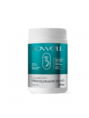 Pó Descolorante LowellColor 400g